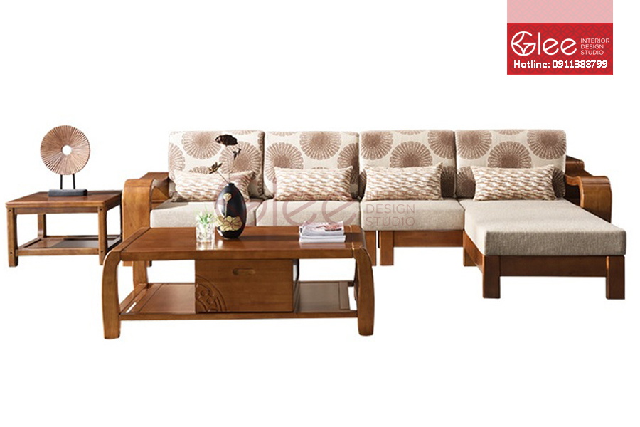 sofa go phong khach dep