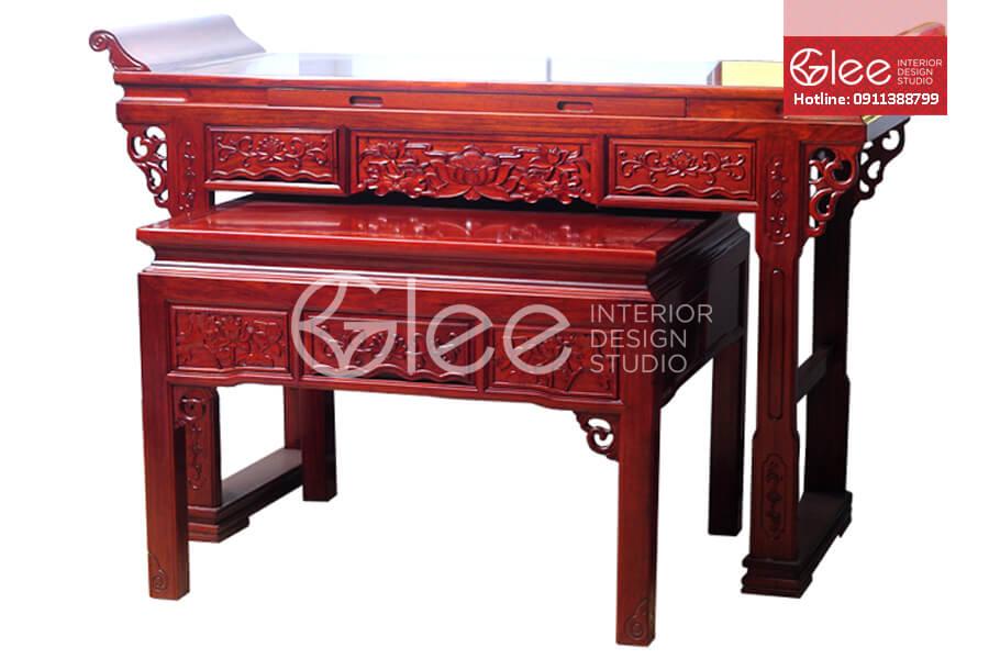 Tủ thờ gỗ gõ đỏ - GTT02