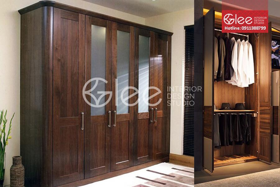 Tủ quần áo gỗ GTA30
